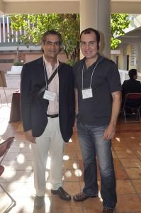 Luis Alberto Ferré Rangel junto a James Lynn. Recordando viejos tiempos sobre los comienzos de El Nuevo Día Interactivo. Trabajé con ENDI.com desde el 1997 hasta el 2000.