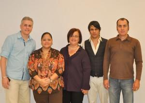 Grupo de conferenciantes del Congreso de EduBlogs EducaPR