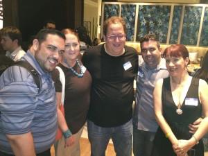 La junta del Social Media Club de Puerto Rico junto a Jeff Pulver