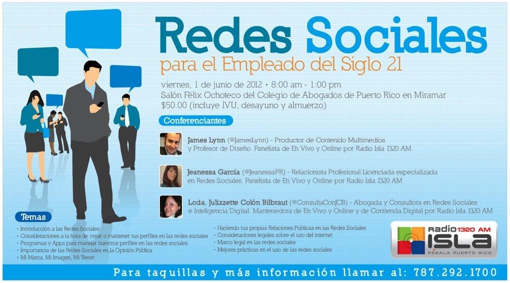 Promoción de Redes Sociales para el empleado del Siglo 21