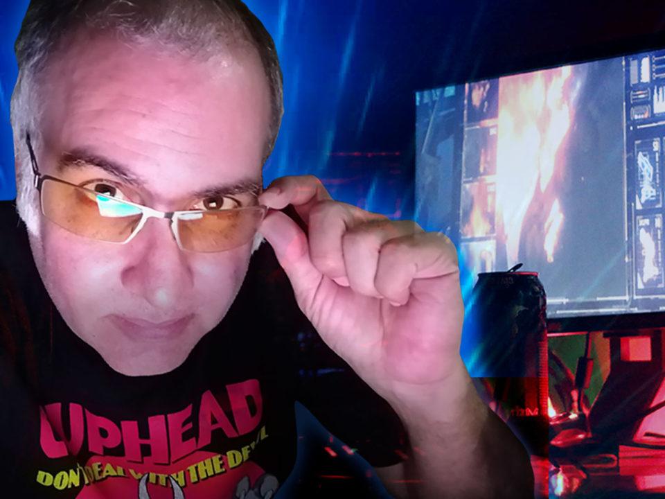 Computadora James gafas luz azul