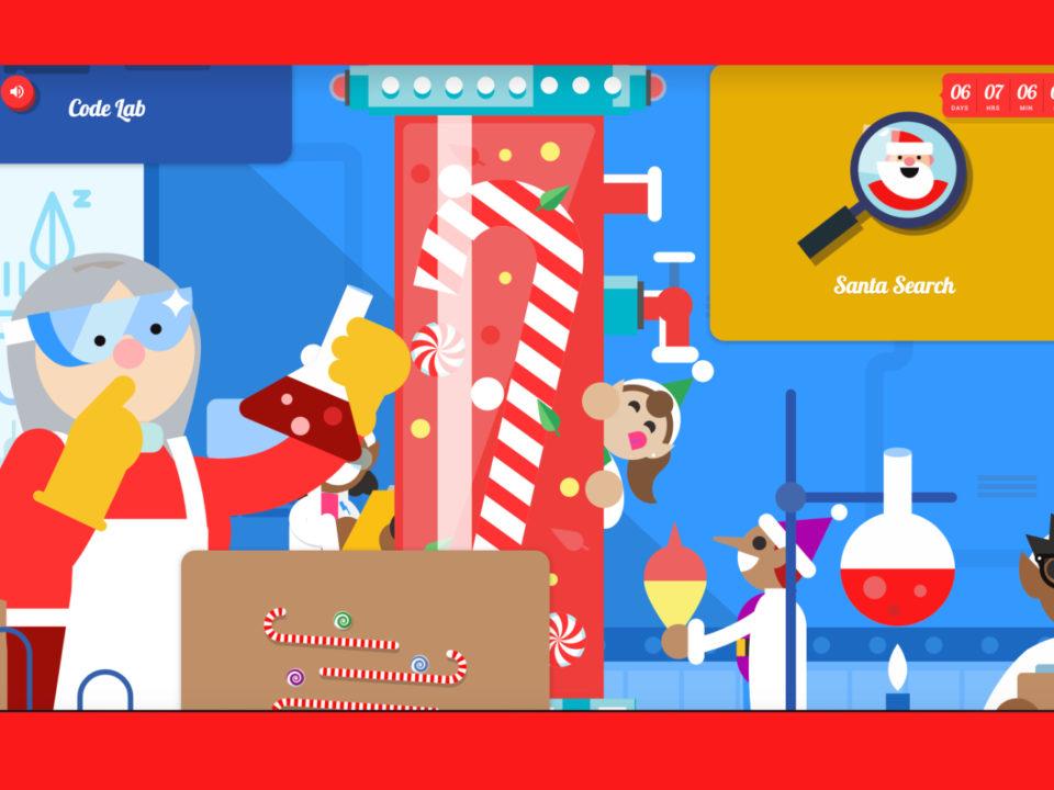 Coding Google Santa Tracker