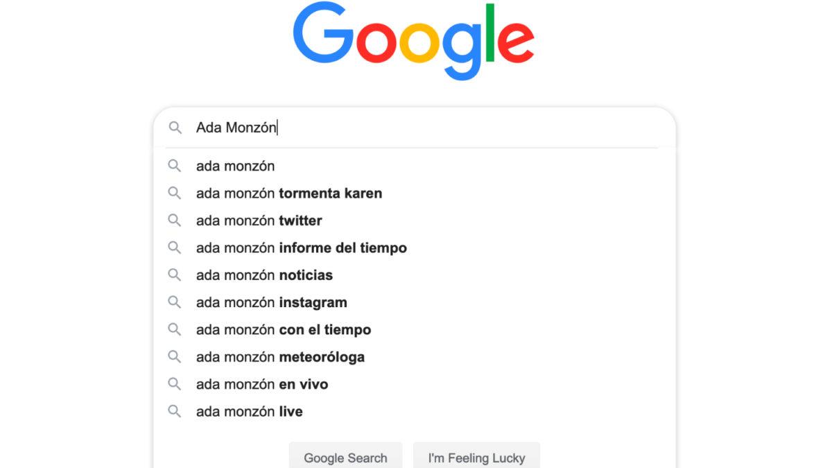Búsqueda Google Ada Monzón