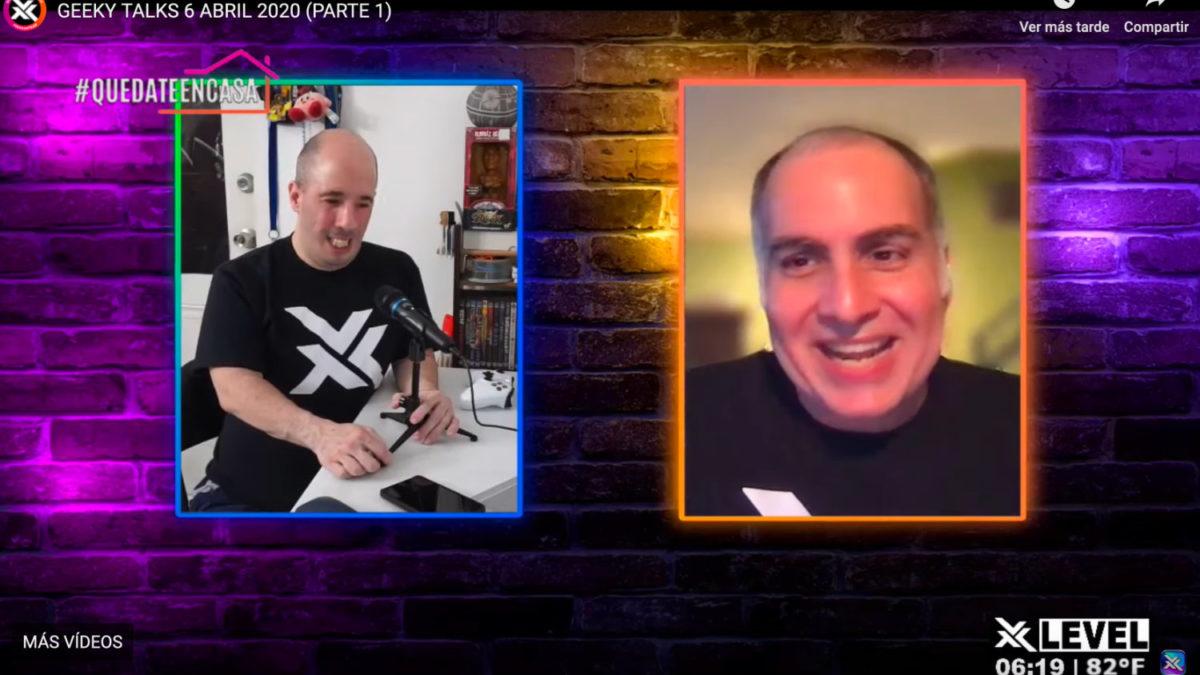 Rafy Mediavilla y James lynn en Geeky Talks