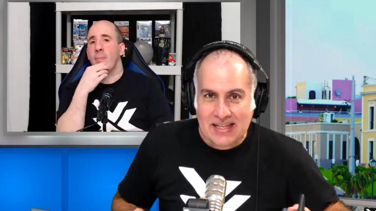 Rafy y James en Geeky Talks