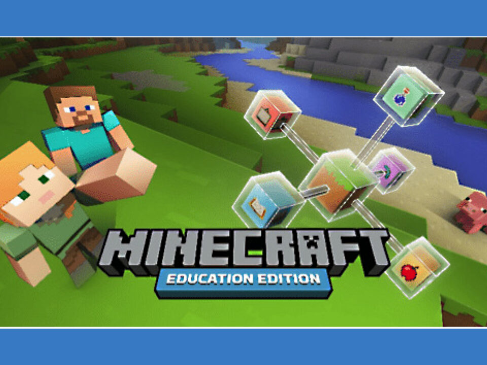 Minecraft Education poster