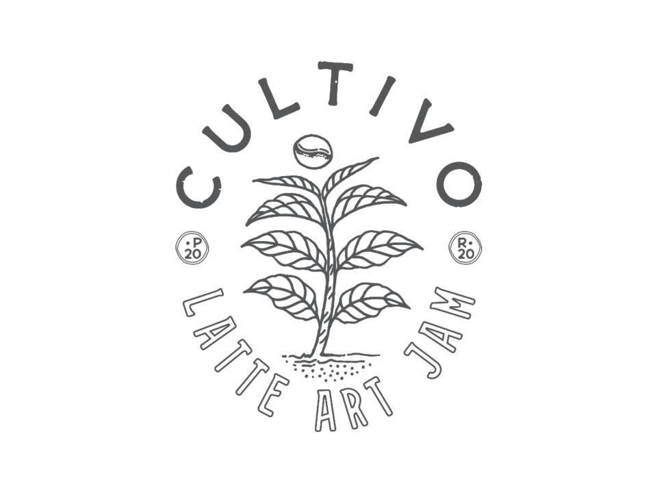 Cultivo Latte Art Jam Logo
