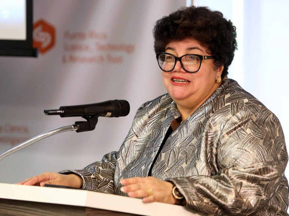 Lucy Crespo, principal oficial ejecutiva (CEO) del Fideicomiso de Ciencia y Tecnología de Puerto Rico