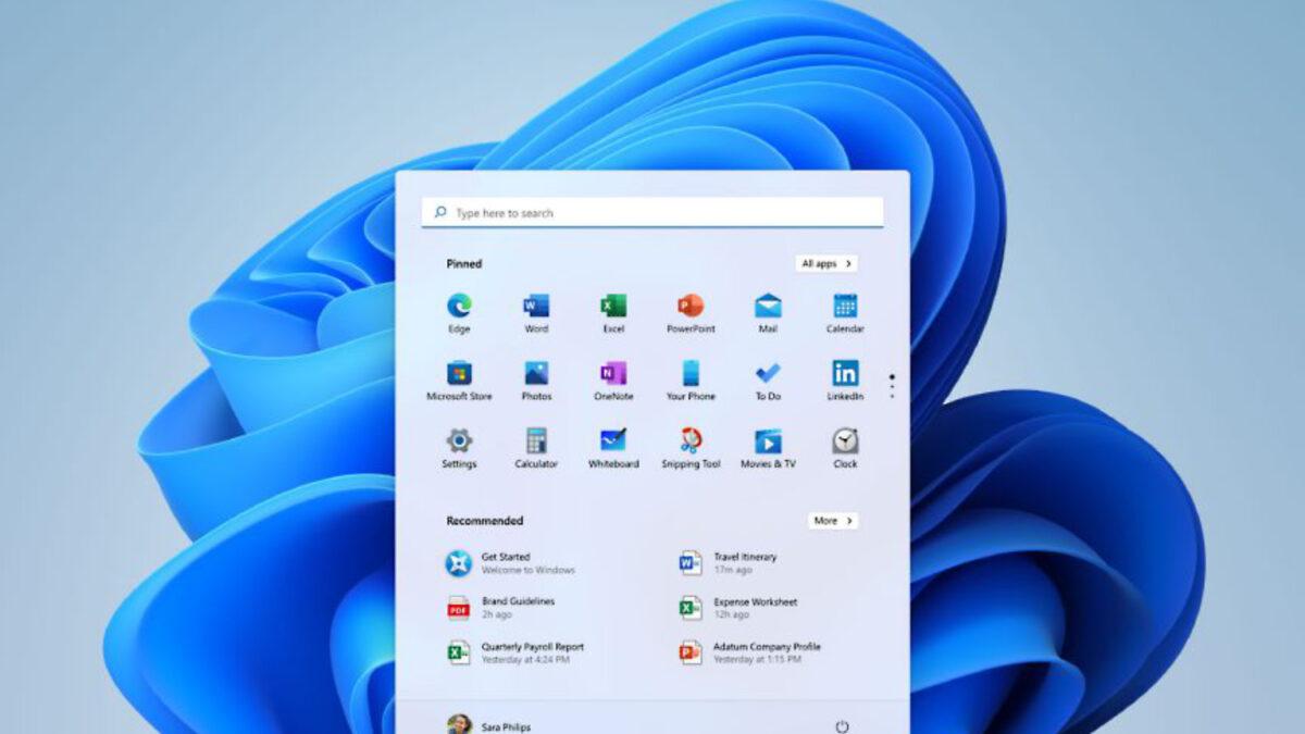 Windows 11 start